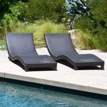 Coast Modern Living Outdoor Chaise Lounge Chairs With Cushions