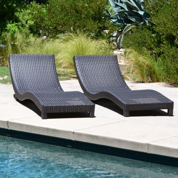 Modern Chaise Lounge Chairs Outdoor