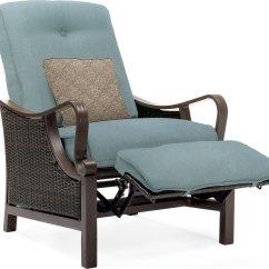 Recliner Patio Chair Zurich Swivel Hanover Ventura Luxury Resin Wicker Outdoor