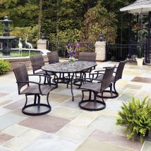 Home Styles Stone Harbor Oval Outdoor Dining Table - Patio