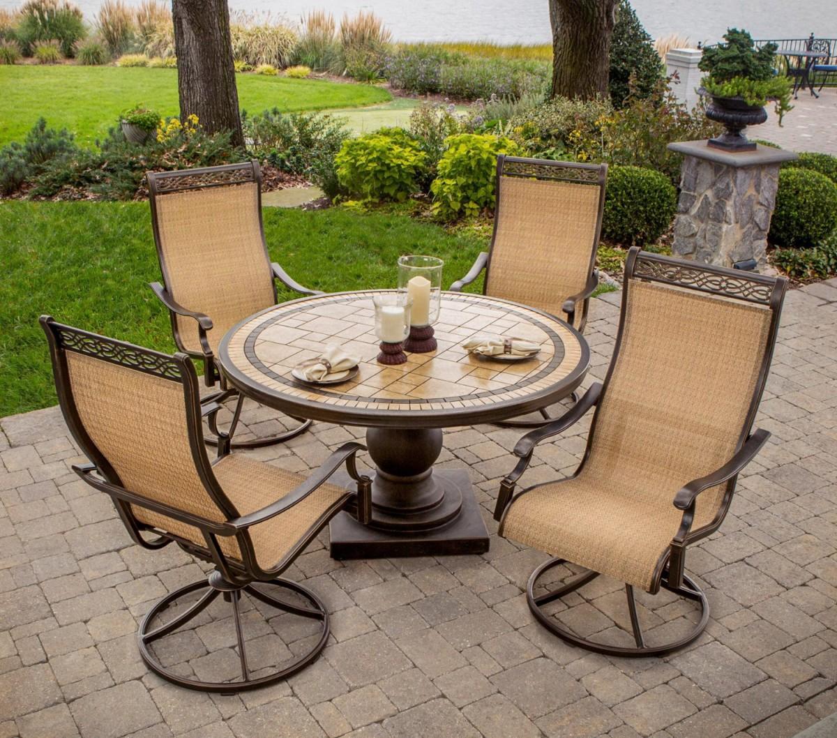 hanover monaco 5 piece outdoor dining