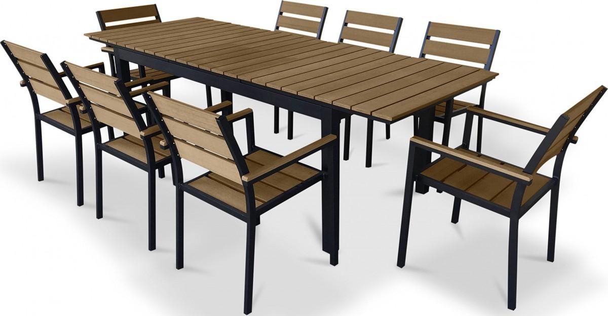 urban furnishing 9 piece polywood
