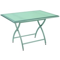 Rivage Rectangle Folding Patio Dining Table 46 inch MUR240 ...