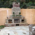 Outdoor fireplace plans do yourself
