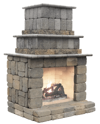 Stone Fireplace Kits - Home Design