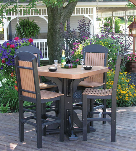stainless steel outdoor table and chairs flip out chair comfort craft furniture | patio town