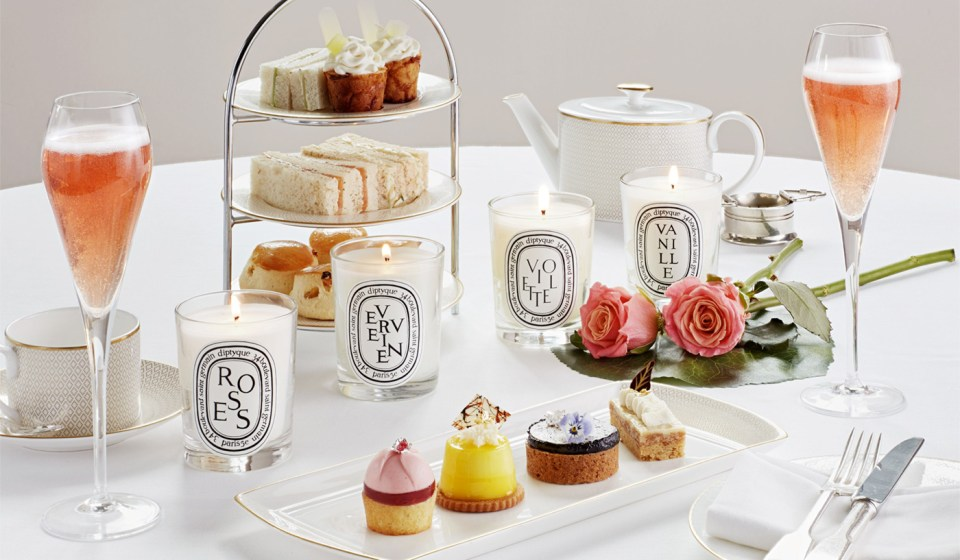 Scent-sational: Hotel Cafe Royal launches Diptyque Afternoon Tea