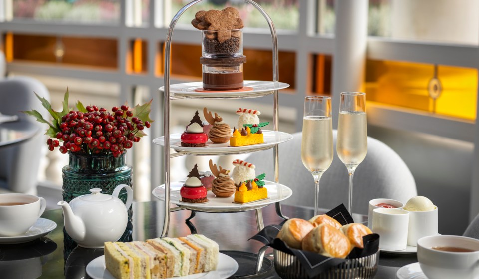 'Tis the season: The best festive afternoon teas in London