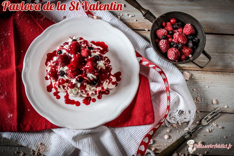Pavlova de la St Valentin