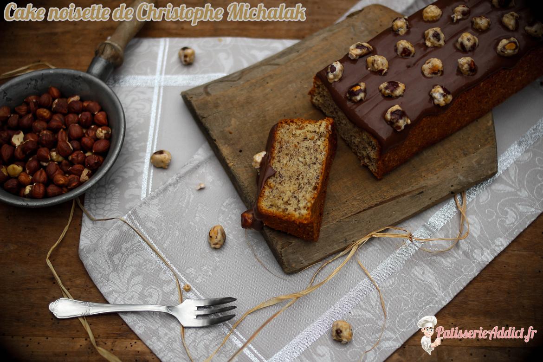 Cake Noisette de Christophe Michalak