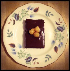 Coffee, Almond, Chocolate Brownies | Patisserie Makes Perfect
