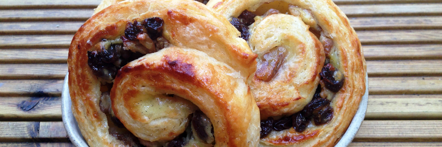 Raisin & Walnut Danish Pastries