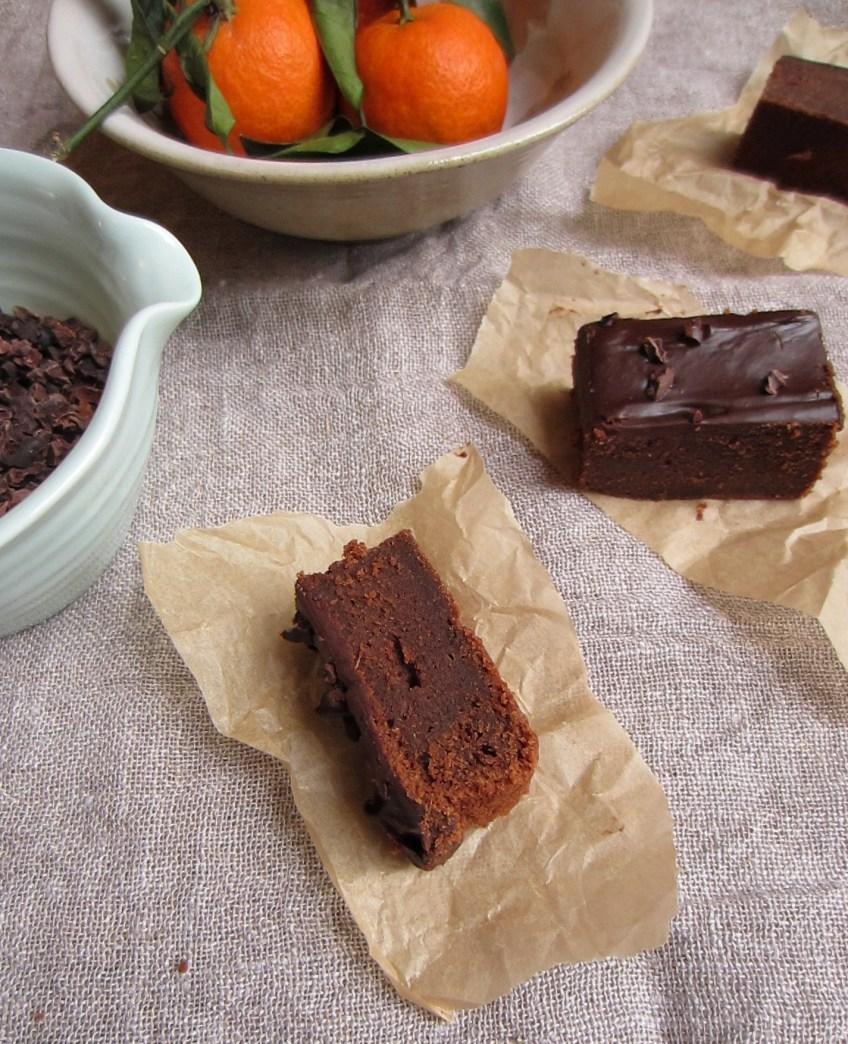 Chocolate Orange Ganache Brownies | Patisserie Makes Perfect