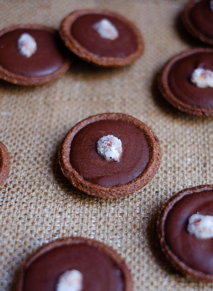 Chocolate Mini Tartlets   Patisserie Makes Perfect