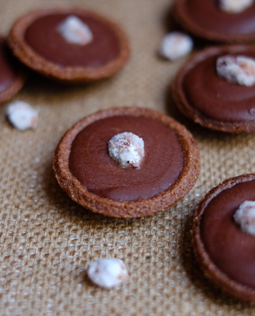 Chocolate Mini Tartlets | Patisserie Makes Perfect