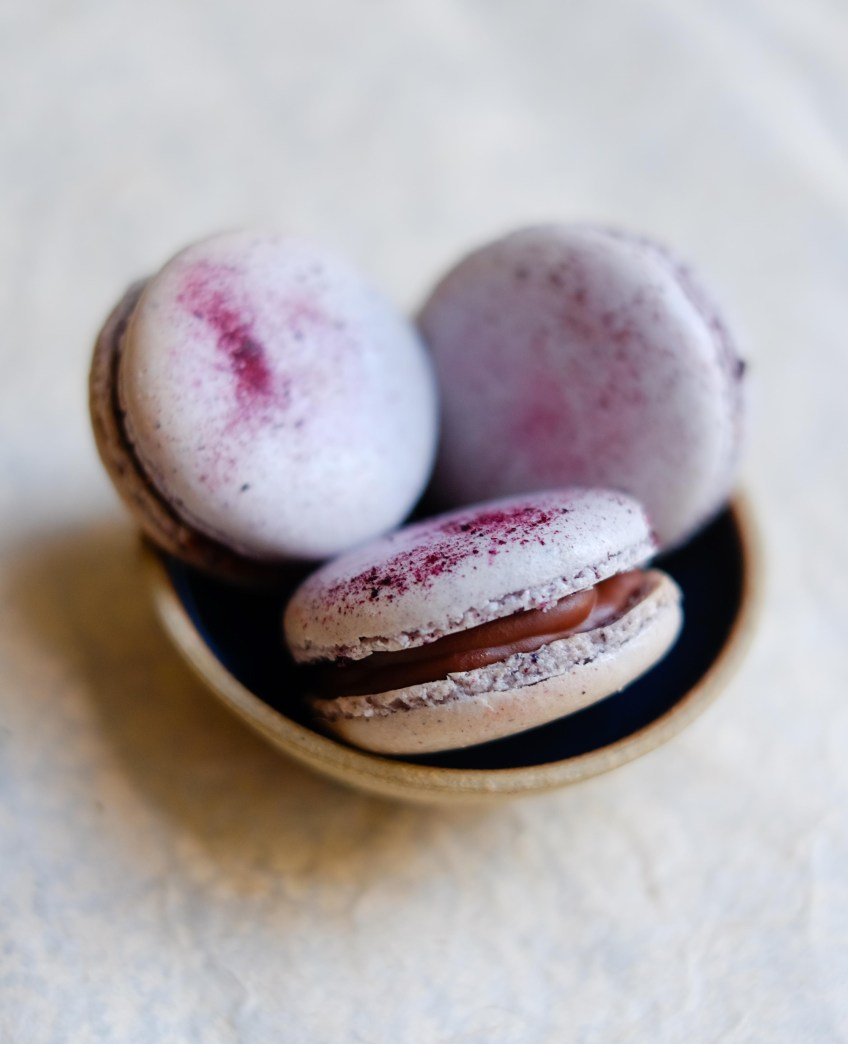 Blueberry Macarons | Patisserie Makes Perfect