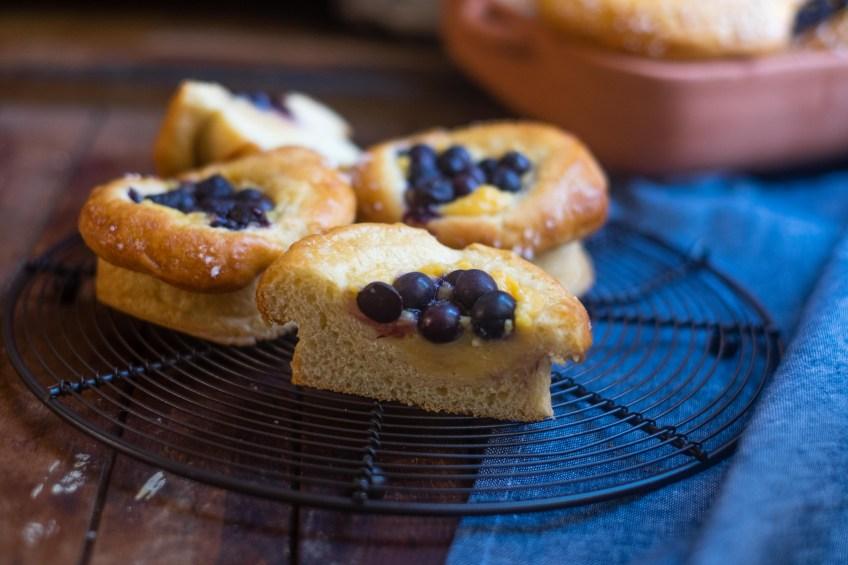 Blueberry Brioche   Patisserie Makes Perfect