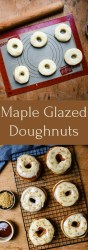 Maple Glazed Doughnuts | Patisserie Makes Perfect