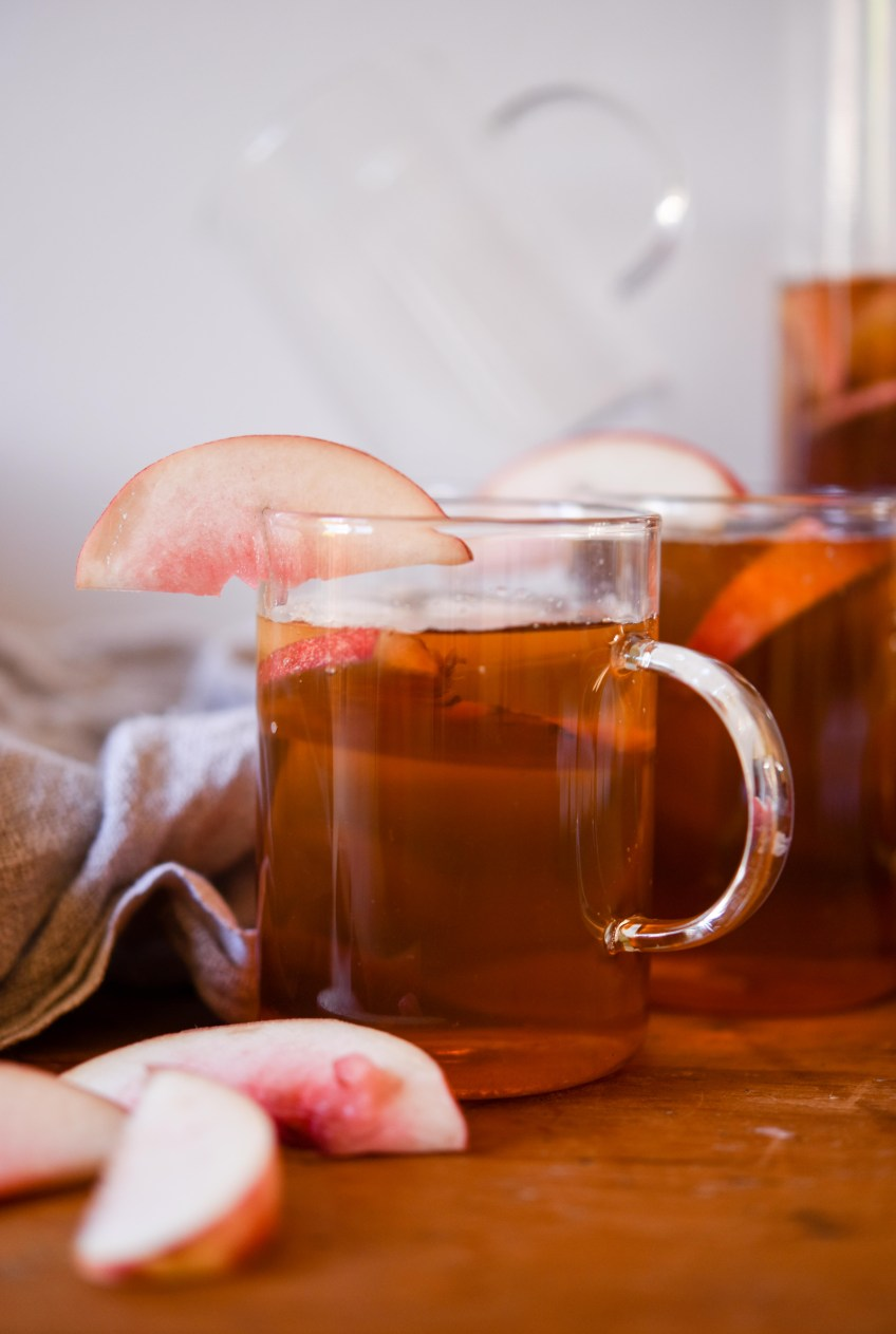 Peach Iced Tea | Patisserie Makes Perfect