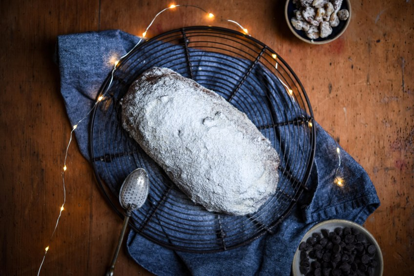 Chocolate Chip Stollen | Patisserie MakesPerfect