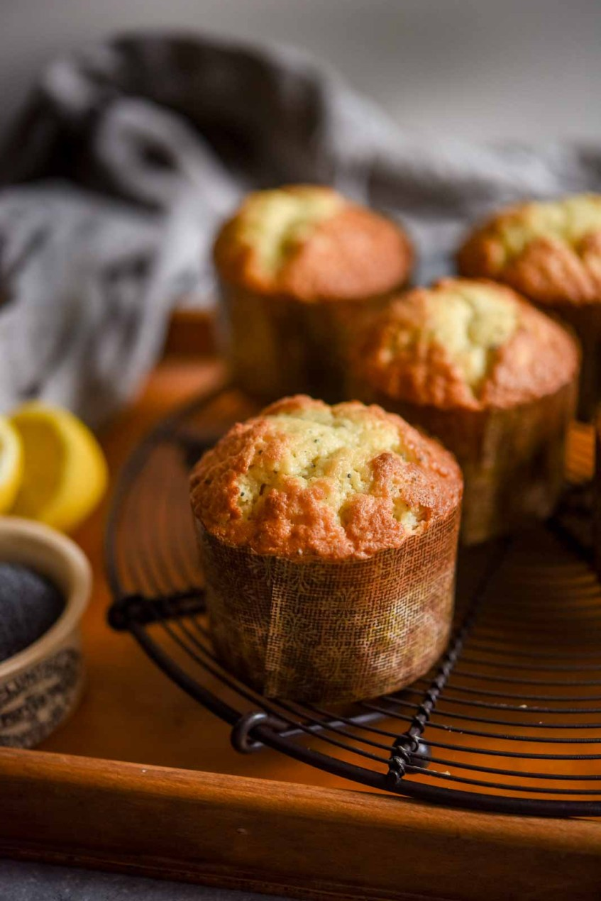 Lemon Poppy Seed Muffins | Patisserie Makes Perfect