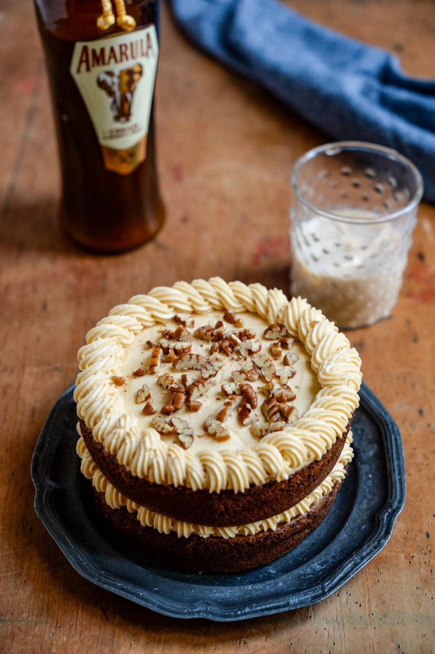 Amarula Banana Cake | Patisserie Makes Perfect