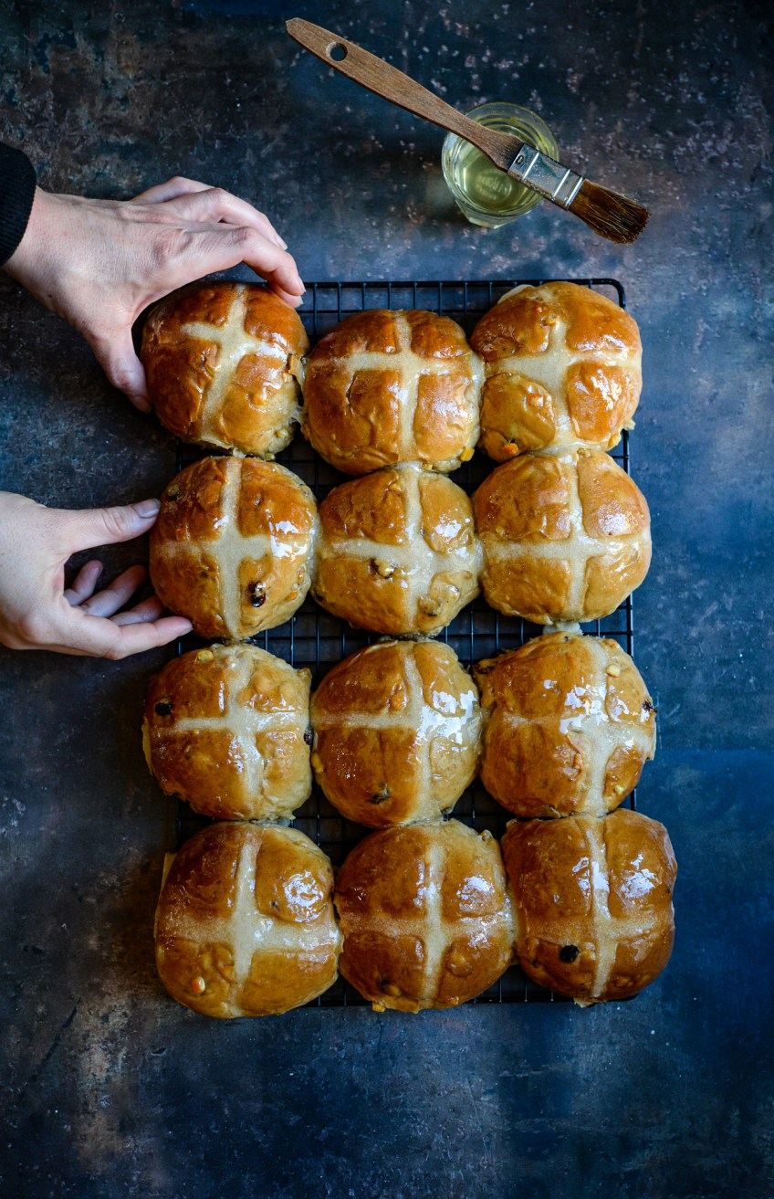 Hot Cross Buns | Patisserie Makes Perfect