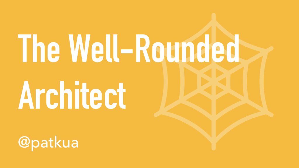 The Well-Rounded Architect Cover Slide