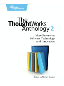The ThoughtWorks Anthology 2 Book Cover