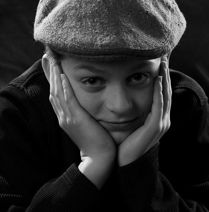 Yousef Karsh Inspired Portraits