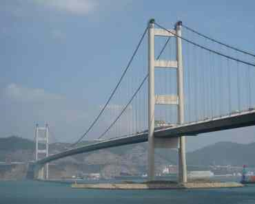 Hong Kong : Tsing Ma Bridge 青马大桥: Photos and How to Get There to Park Island
