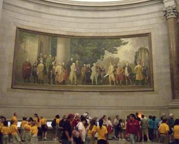 Declaration of Independence at National Archives Washington DC