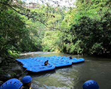 White Water Rafting at Bali Ayung River