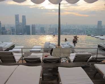 Marina Bay Sands Sky Park Swimming Pool