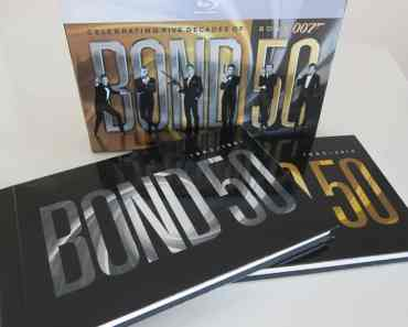 Bond 50- The Complete 22 Film Collection