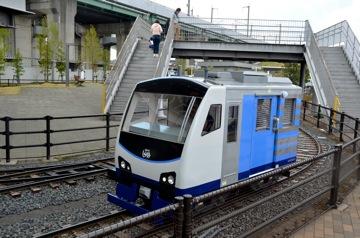 Toy train, Railway Museum, Saitama, Japan
