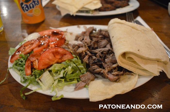 Un plato así por 9 Liras (2.90 )
