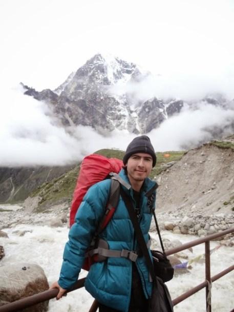 Tshamanny antes de subir al Monte Everest