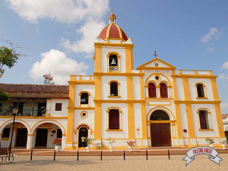 Mompox-Iglesia de La Concepción-Colombia-Patoneando-blog-de-viajes-