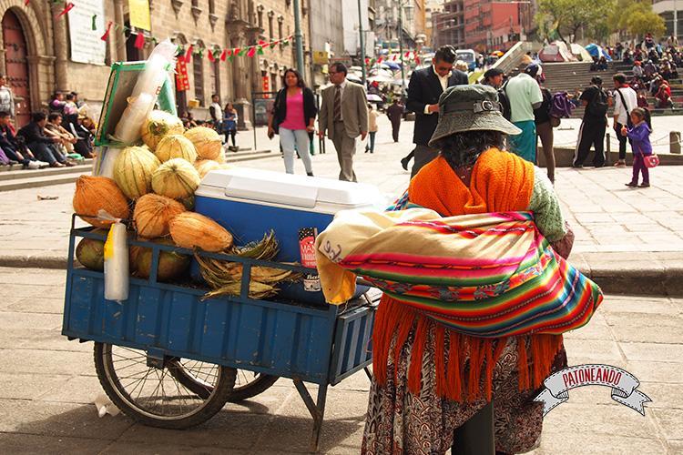 ¡Bienvenida a Bolivia!