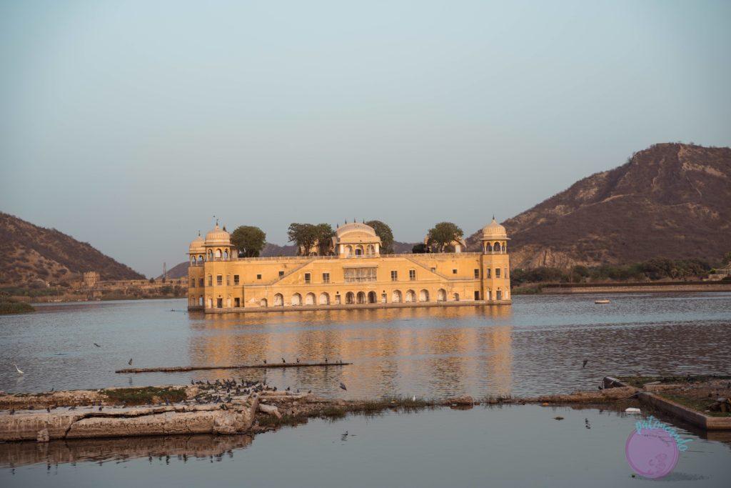 20 cosas que hacer en Jaipur - India - Jal Mahal o palacio de agua en Jaipur -Patoneando blog de viajes