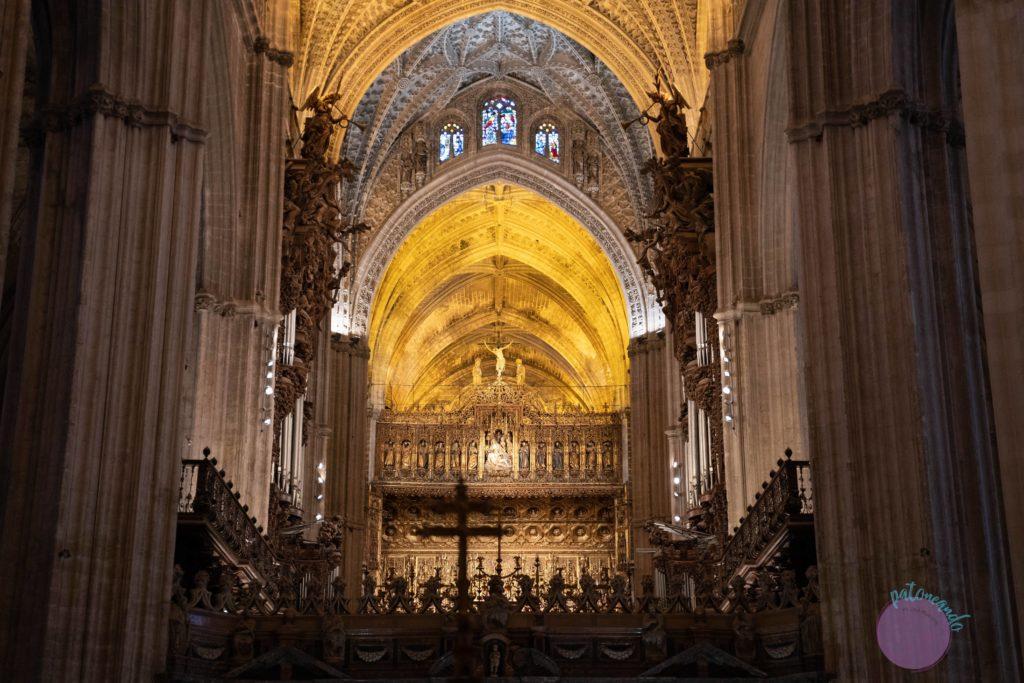 cosas que hacer en sevilla - Interior de la Catedral de Sevilla - Patoneando blog de viajes