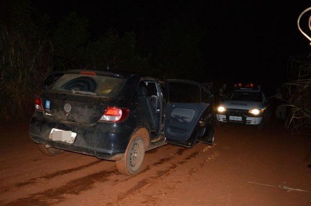 Bandidos assaltam e roubam automóveis em fazenda no município de Carmo do Paranaíba