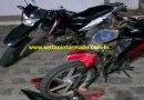 Jovem e mulher ficam feridos após colisão envolvendo motos no Sertão
