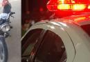 Moto roubada é apreendida pela Polícia Militar, em Diamante