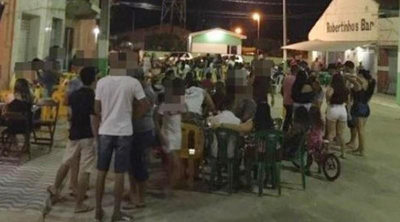 População denuncia várias aglomerações em festa no fim de semana no Sertão