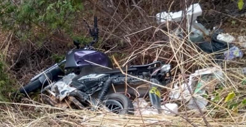 Acidente envolvendo motocicleta faz vítima fatal no Vale do Piancó