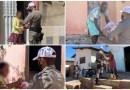 Polícia, Bombeiro Militar e Fórum Eleitoral realizam entrega de cestas básicas em Patos
