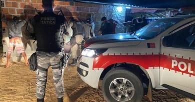 Polícia detém mais de 120 suspeitos durante as ações do fim de semana