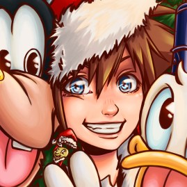 Kingdom Hearts Xmas